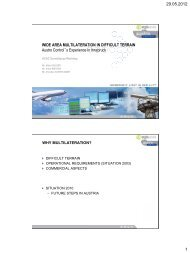 29.05.2012 1 WIDE AREA MULTILATERATION IN DIFFICULT ...