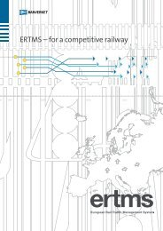 ERTMS – for a competitive railway - Trafikverket