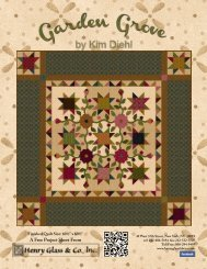 Garden Grove by Henry Glass & Co. - 3 Dudes Quilting