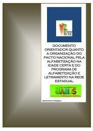 Acesse as orientações para a organização do Pacto Nacional pela ...
