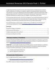 Autodesk Showcase 2013 Service Pack 1 - Fichier