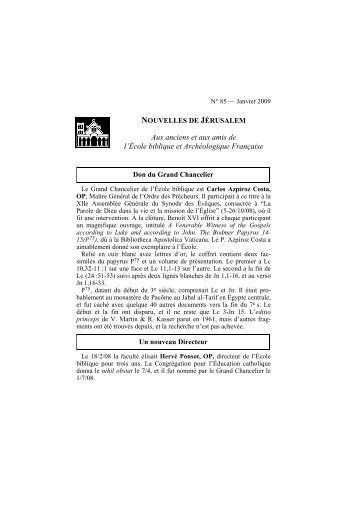 Lettre Je-rusalem 01-09 - EBAF