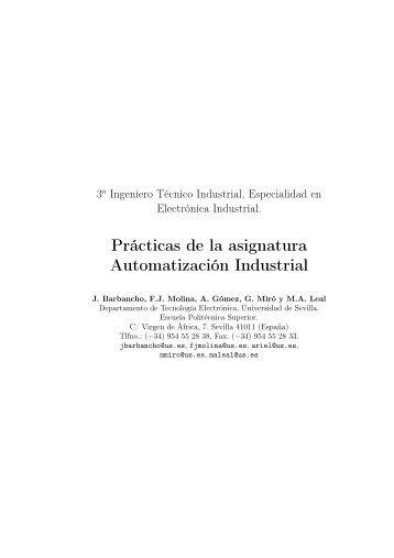 Prácticas de la asignatura Automatización Industrial - Departamento ...
