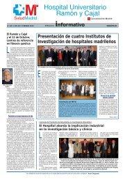 Hospital Universitario Ramón y Cajal - Comunidad de Madrid