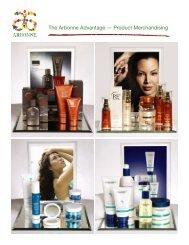 The Arbonne Advantage — Product Merchandising - Susan ...