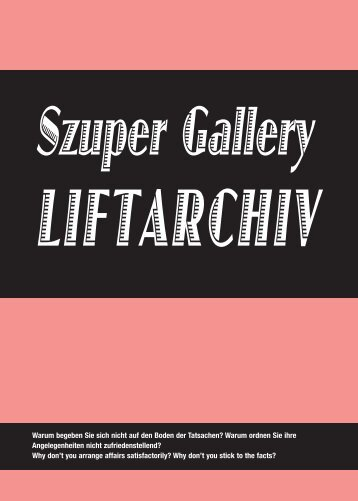 download PDF here - Liftarchiv