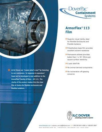 ArmorFlex® 113 Film - Team-Logic