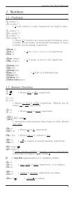 Common Lisp Quick Reference - Cheat Sheet - Page 3