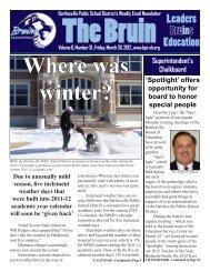 The Bruin (Vol. 6, Issue 31).indd - Bartlesville Public Schools