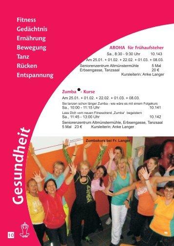 Gesundheit - KulturForum Hattersheim eV