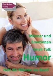 Männer und Emotionen Small Talk Holt die Männer ins Boot! - Pandsid