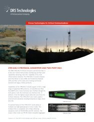 ctm-100/c protocol converter and two port mux - DRS Technologies