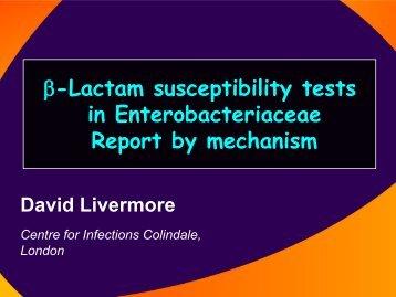 David Livermore - eucast
