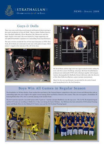 Guys & Dolls - Strathallan School