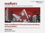 Präsentation Mefisto Kongress Herbst 2011