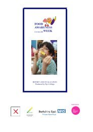 REPORT AND EVALUATION Produced by Pip Collings - Bhps.org.uk