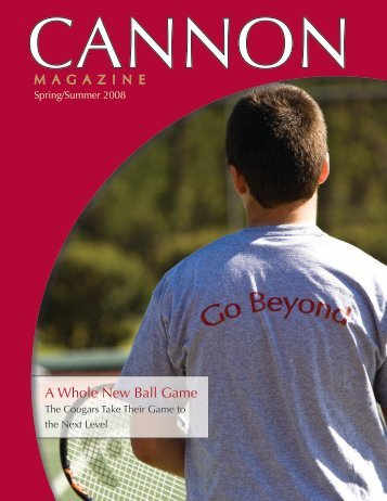 A Whole New Ball Game - Cannon School