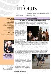 30 November 2012 - International Grammar School