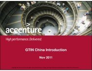 GTIN China Introduction