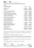 Ergänzender Detailbericht zur Jahresrechnung 2005 - Züriwerk - Page 3