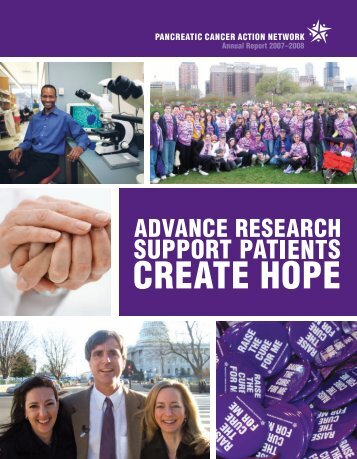 annual report 2007–2008 - Pancreatic Cancer Action Network