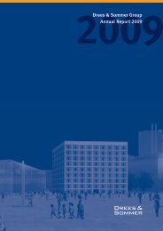 Drees & Sommer Group, Annual Report 2009