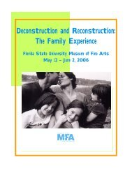 Deconstruction and Reconstruction: The Family Experience