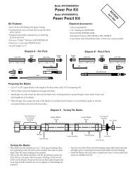 Power Pen Kit Power Pencil Kit - Penn State Industries