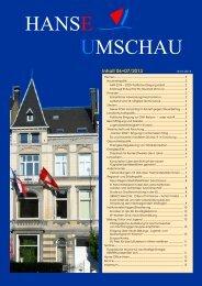 HansEUmschau Newsletter - Schleswig-Holstein