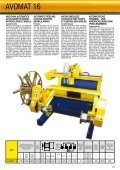 cable winders and unwinders macchine per ... - Elettricoplus - Page 2