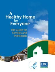A Healthy Home - Centers for Disease Control and Prevention