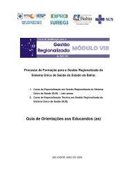 manual do educando - módulo viii - Sesab
