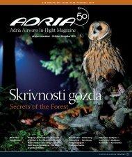 Oktober, november 2011 - Adria Airways
