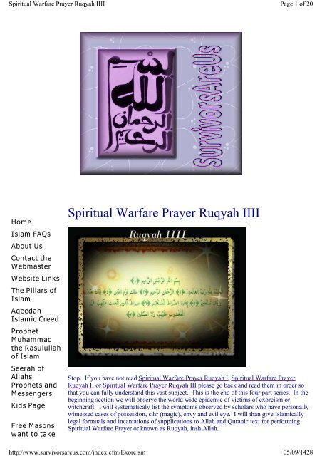 How To Pray Warfare Prayers