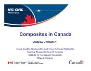 Composites in Canada - Carleton University