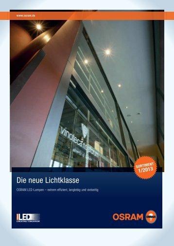 Osram Parathom LED Lampen Katalog