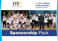 Sponsorship Pack - Fit for Sport