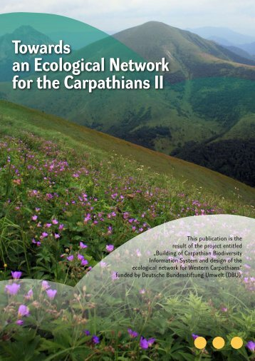 Towards an Ecological Network for the Carpathians II