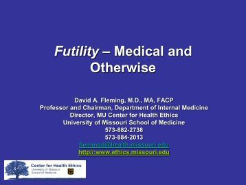treating ed a medical ethics case study
