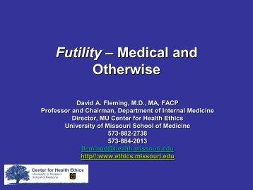 a case study of the ethical dilemmas of an acute care hospital kanekolan medical center
