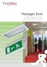 Voyager Exel - THORN Lighting