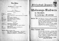 Wohnungsnachweis Zoppot von 1940 - Danzig