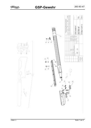 GSP-Gewehr 2638347 - Borchers