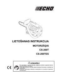 Lietošanas instrukcija - Stokker instrumentu un servisa centrs