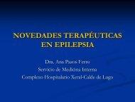 NOVEDADES TERAPÉUTICAS EN EPILEPSIA