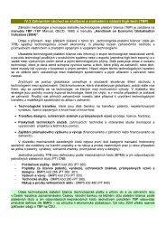 IV.3 Zahraniční obchod se službami a znalostmi v oblasti high-tech ...