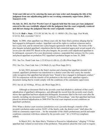 Authorization Nunc Pro Tunc In UCC Proposed Amendments