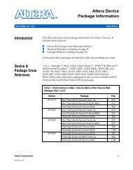 MAX 7000A Programmable Logic Device Data Sheet - Altera