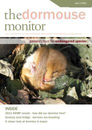 The Dormouse Monitor vol 1 2012 - People's Trust for Endangered ...