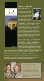 The Chair Reports... - The Conservancy for the Parthenon ...